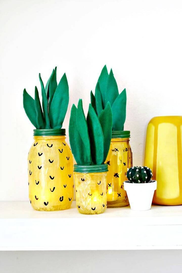 Wonderful DIY Pineapple Night Light Tutorial