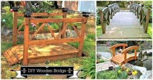 3 DIY Garden Bridge Plans Made with Wood, DIY Projects, DIY Home Decor Ideas, DIY Garden Projects