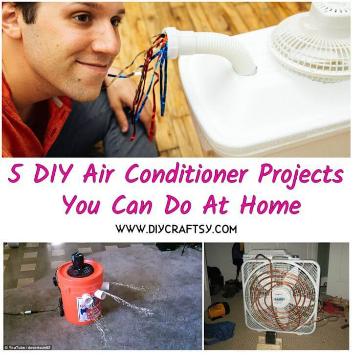 5 DIY Air Conditioner Projects You Can Do At Home, DIY Crafts, DIY Projects, DIY Ideas, DIY Hacks, DIY Home Decor Ideas (1)