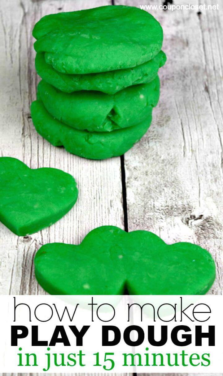 Quick Best Homemade Playdough Recipe