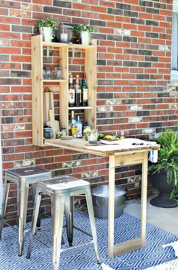 How to Build a Murphy Bar - DIY Wooden Project