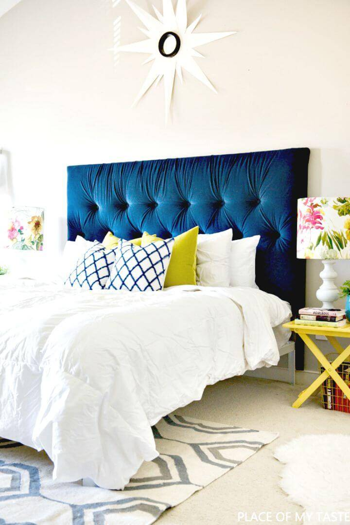 How to Make Tufted Headboard - DIY