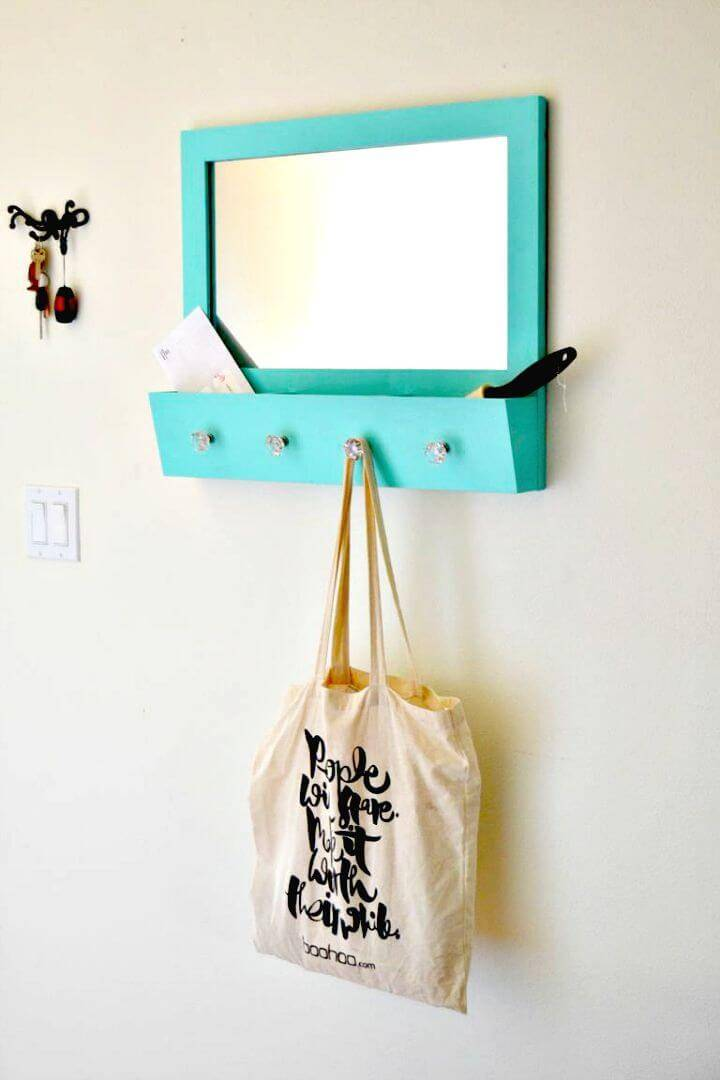 Easy DIY Entryway Mirror Makeover