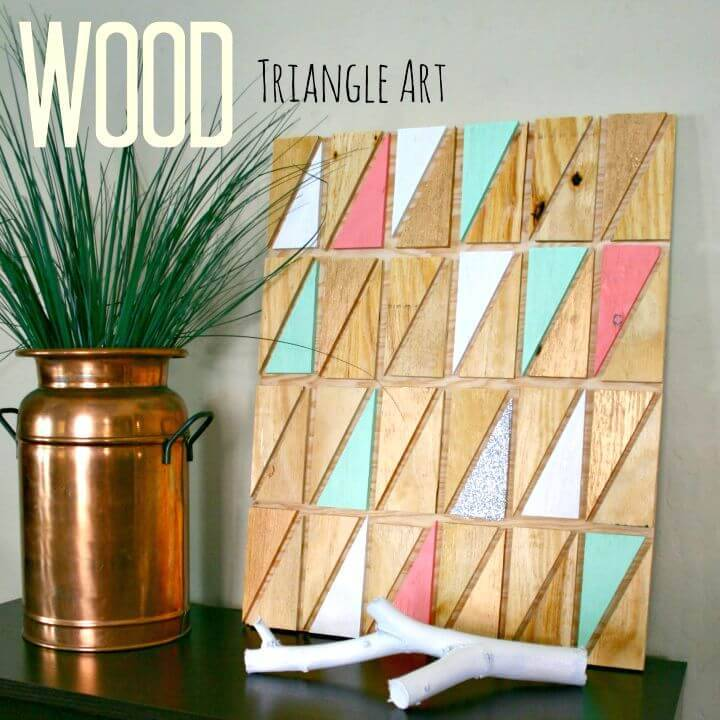 Build Wooden Geometric Wall Art - DIY