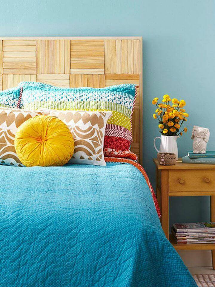 How to Build Wood Headboard - DIY Bedroom Idea