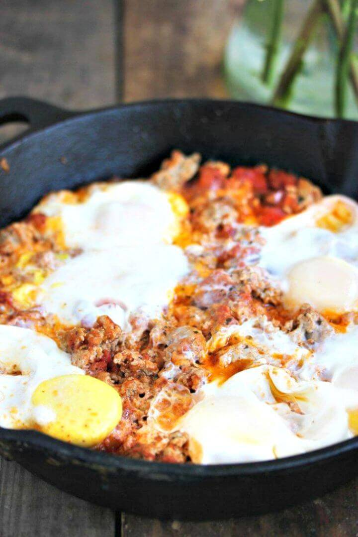 3 Ingredient Breakfast Skillet Recipe
