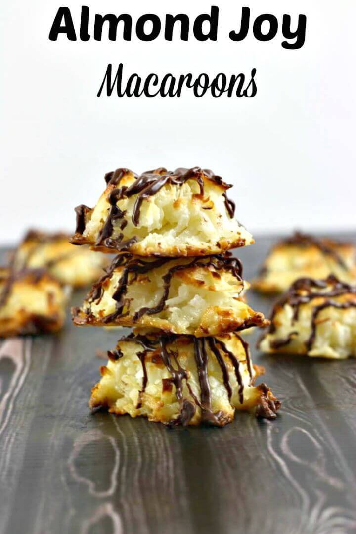 Almond Joy Macaroon Recipe