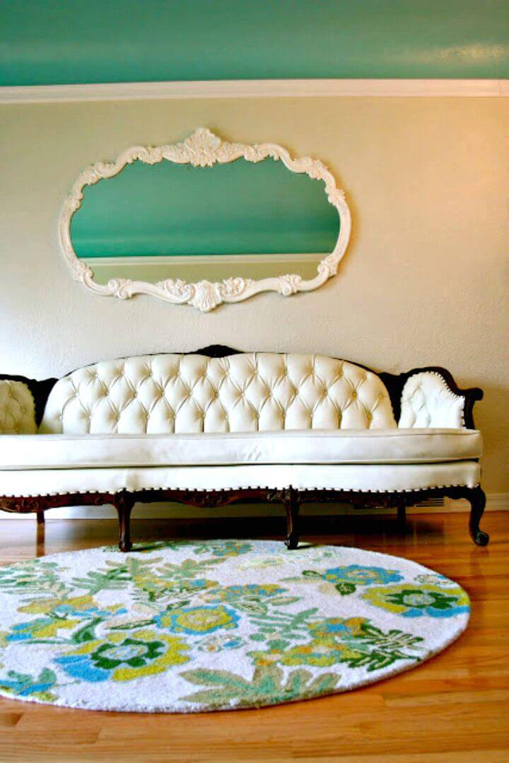 How to Make Antique Sofa - DIY