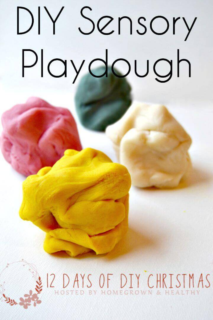 Natural Sensory Playdough Recipe