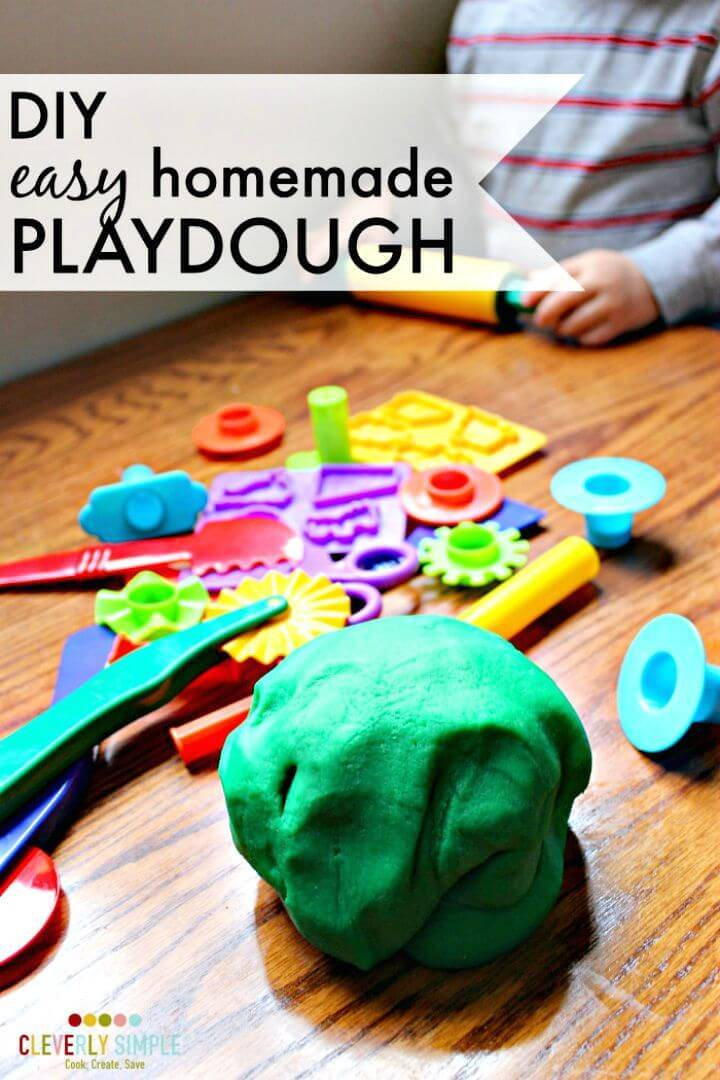 Easy to Make Playdough for Kids
