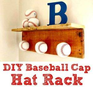 25 Easy DIY Baseball Crafts & Home Decor Projects