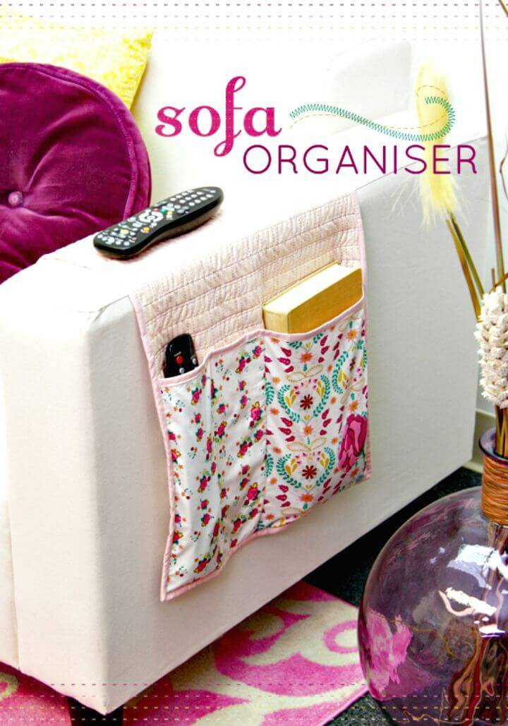 How to DIY Bijoux Sofa Organiser