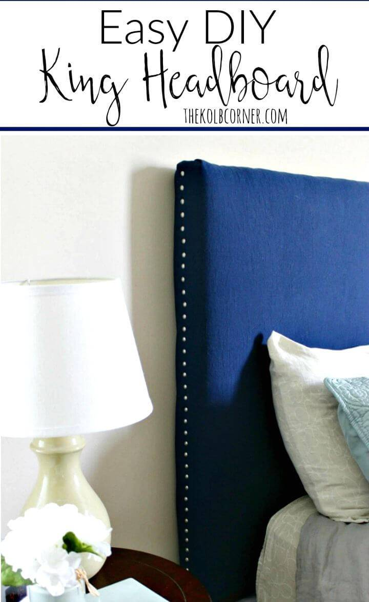 How To Make King Headboard - DIY