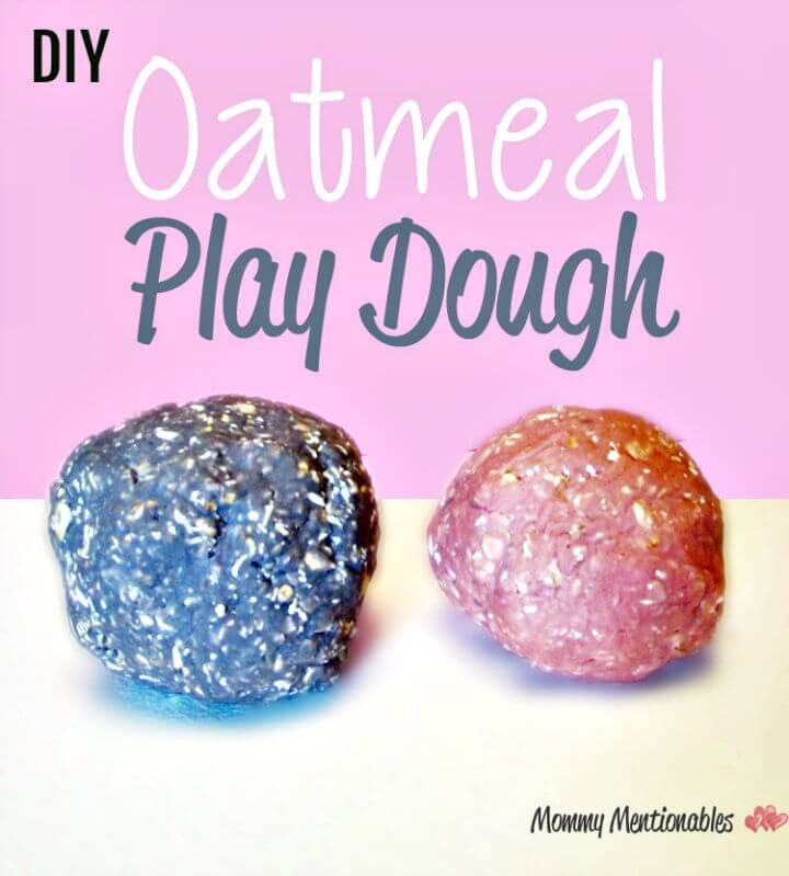 DIY Oatmeal Playdough