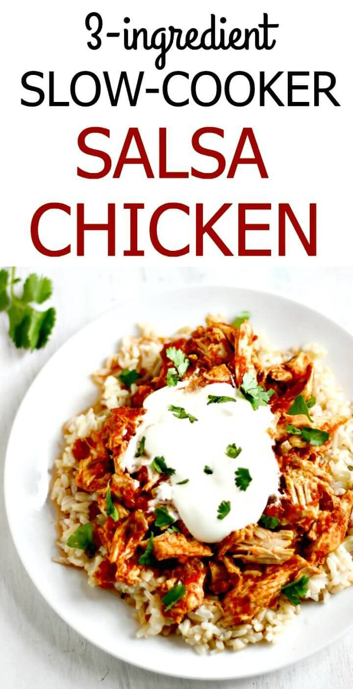 Quick Slow-cooker Salsa Chicken Recipe
