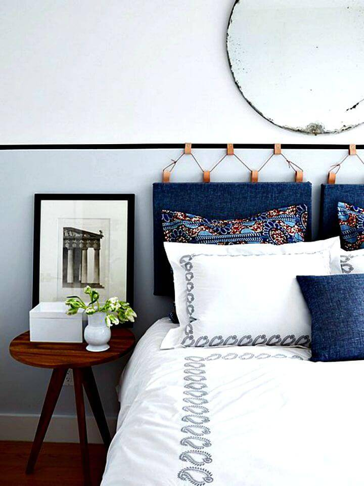 Gorgeous DIY Headboard - Bedroom Decor Idea