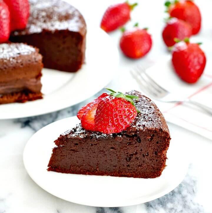 Healthy Flourless Chocolate Cake Recipe