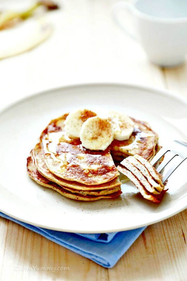 3 Ingredient Pancakes Recipe