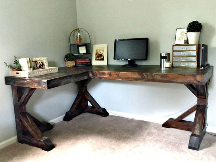 How To Build Corner Desk - DIY