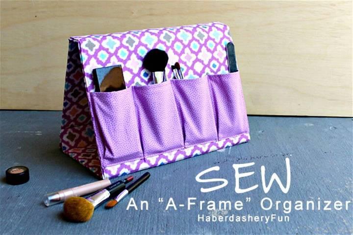How To Make Frame Organizer - DIY