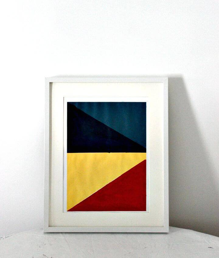 Make Geometric Wall Art - DIY Gift Idea