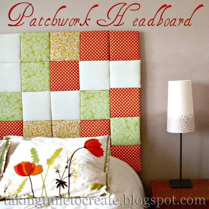 How To Make Patchwork Headboard - DIY