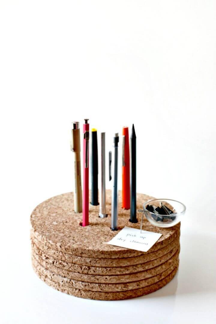 How To Make Pencil Holder - DIY