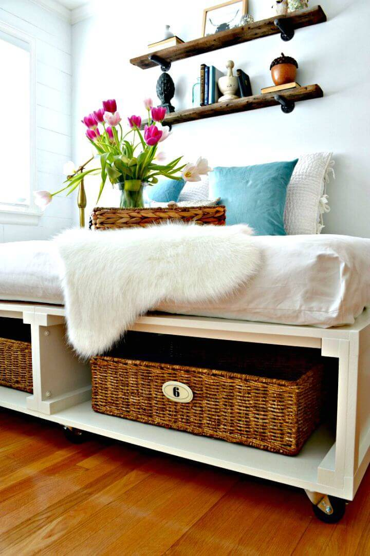 How To Make Platform Bed with Storage