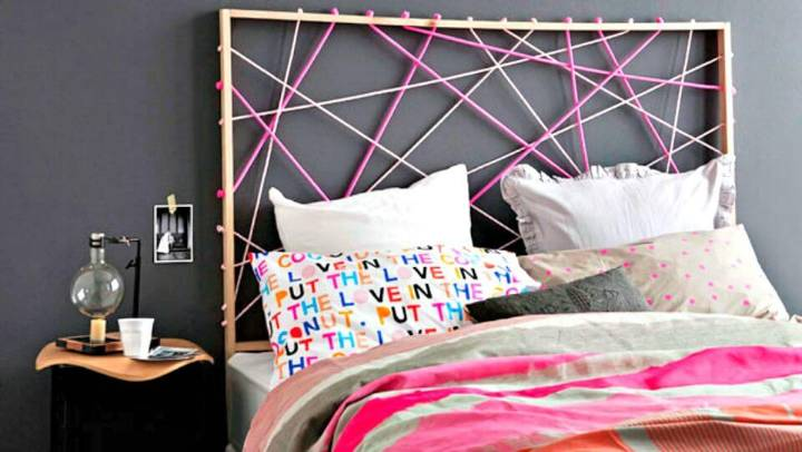 Make Rope Design Bedhead - DIY