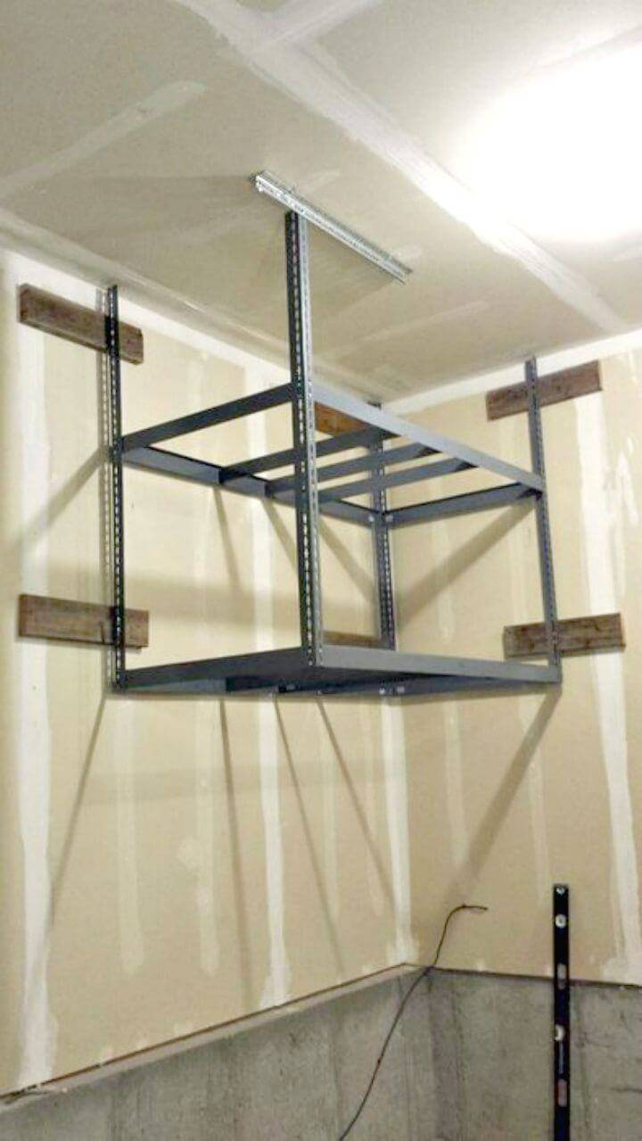 How to Build Storage Shelf
