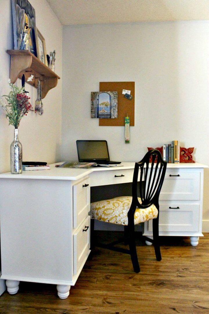 Make A Corner Desk - Wooden Building Ideas