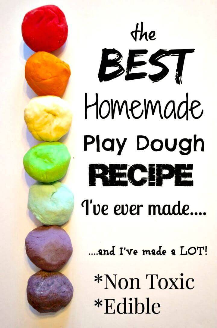 Koolaid- Rainbow Colors Play-dough