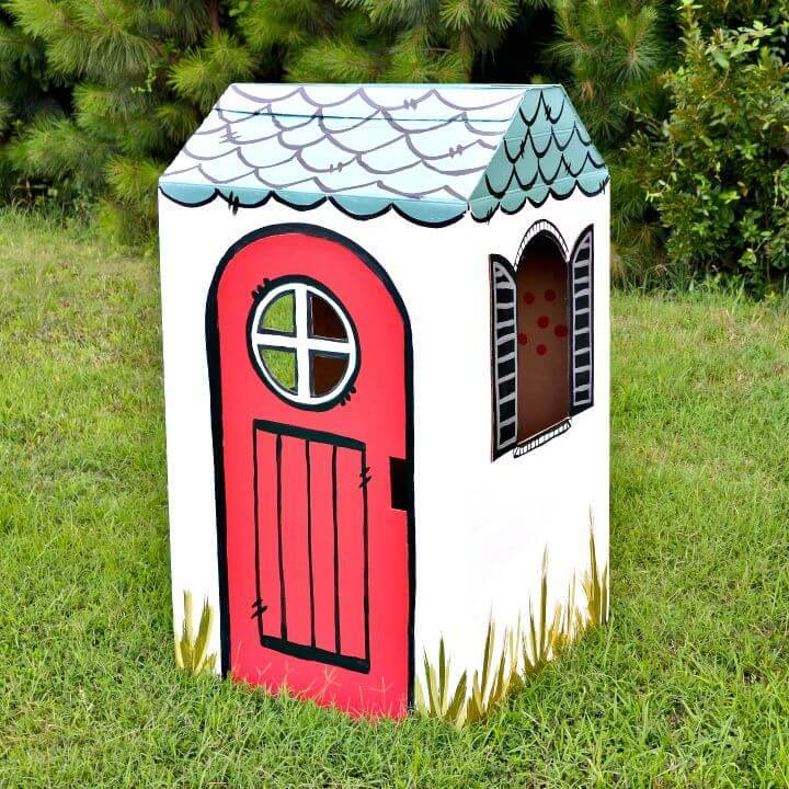 DIY Playhouse On The Block for Kids