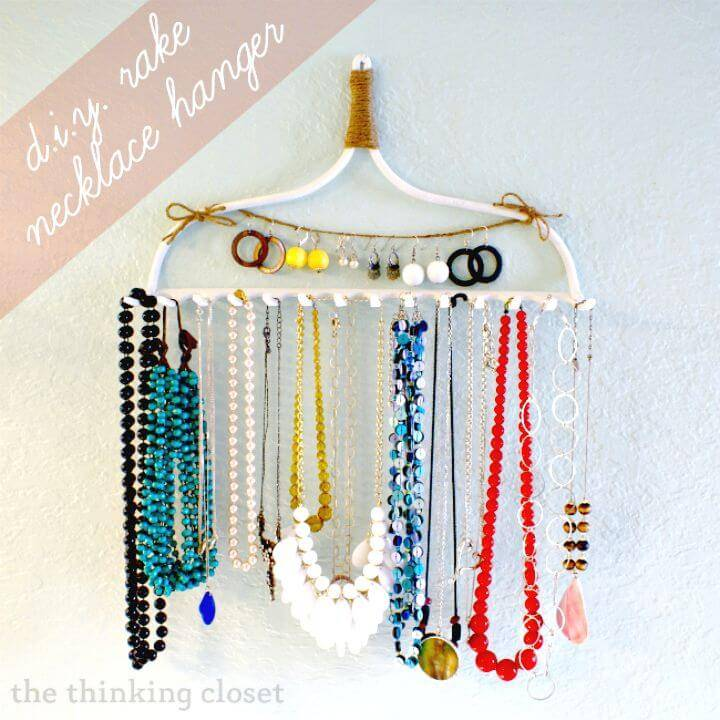 How to Make Rake Necklace Hanger