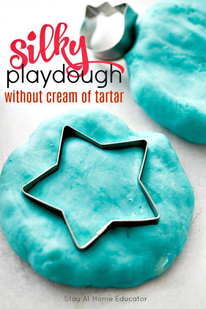 Super Soft Playdough without Cream Of Tartar
