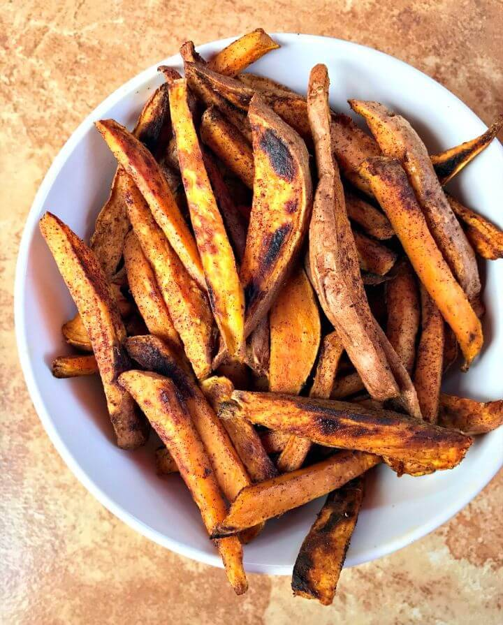 3-ingredient Sweet Potato Fries Recipe
