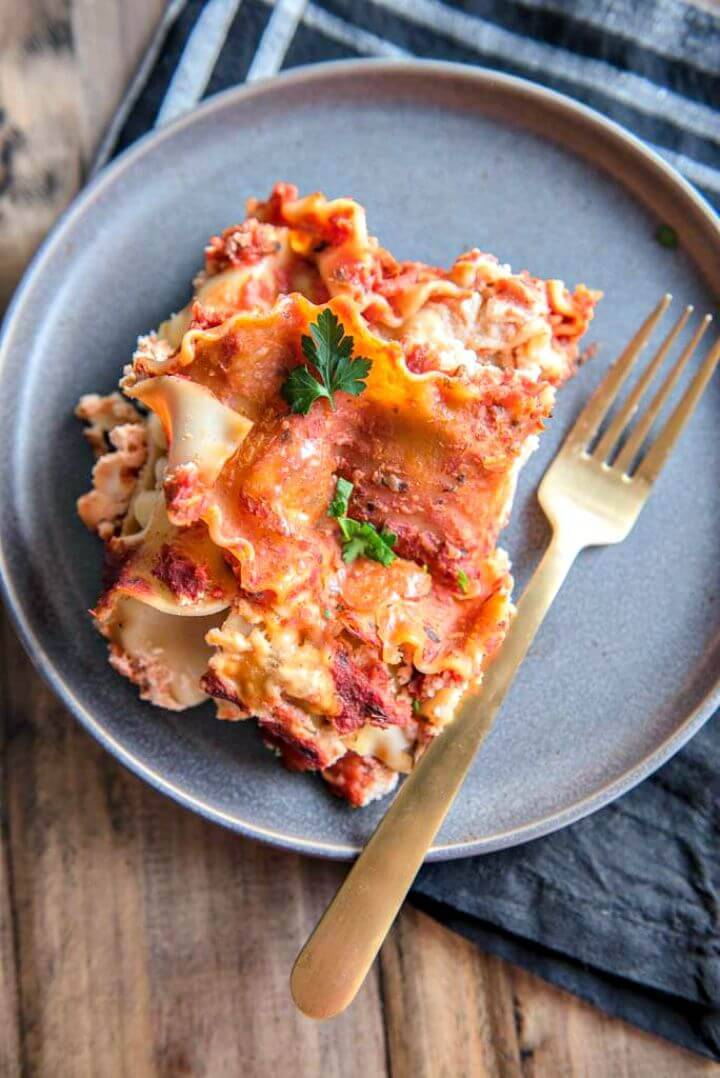 3 Ingredient Slow Cooker Lasagna Recipe