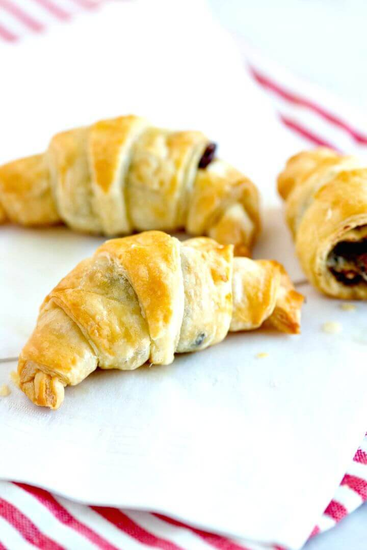 Delicious Chocolate Croissants Recipe