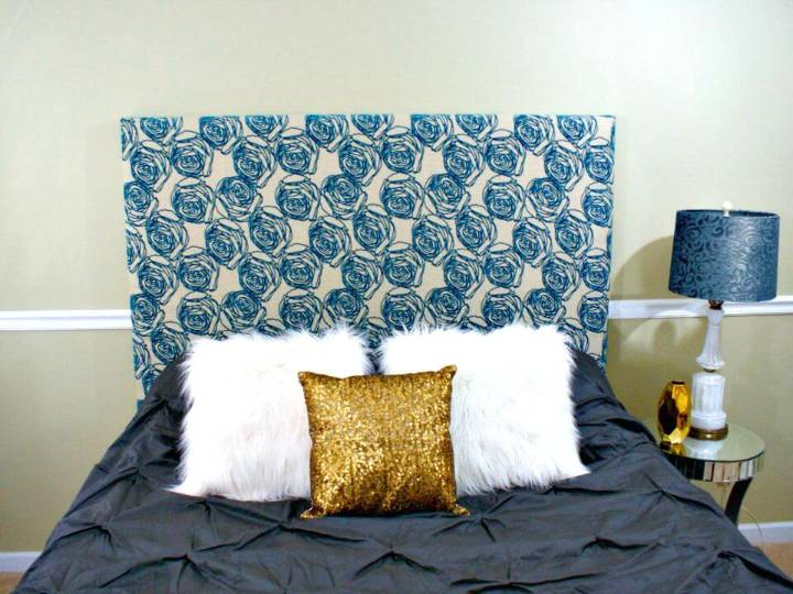 Simple DIY Upholstered Headboard