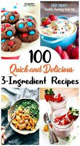 3 Ingredient Recipes, three ingredient recipes, easy recipes, best recipes, diy recipes, easy recipe by ingredient