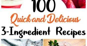 3 Ingredient Recipes, three ingredient recipes, easy recipes, best recipes, diy recipes, easy recipe by ingredient