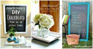 35 DIY Ideas to Reuse Old Picture Frames for DIY Projects