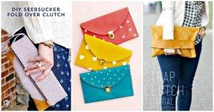64 Easy DIY Clutch Purse Ideas – DIY Fashion Projects
