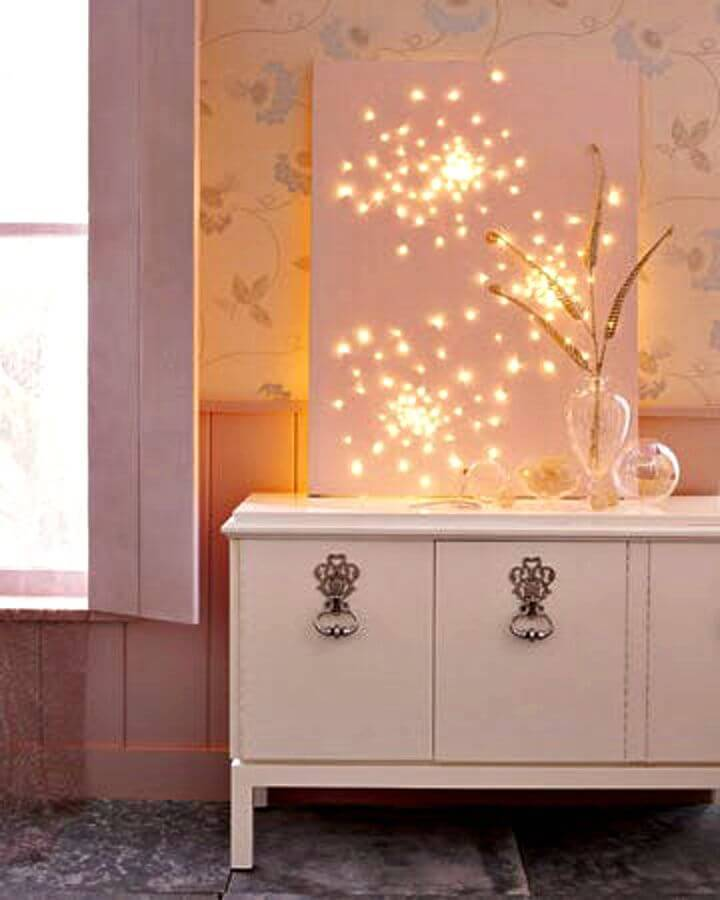 Make Glittering Lightscape - DIY Indoor Lighting Ideas