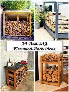 14 Best DIY Firewood Rack Ideas | Firewood Storage Ideas