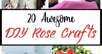 20 Awesome DIY Rose Crafts, diy flowers craft, diy crafts, diy home decor ideas, diy projects, diy fashion