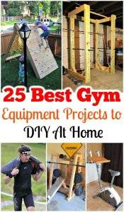 25 Best Gym Equipment Projects to DIY At Home, DIY Projects, DIY Ideas, Wooden Projects