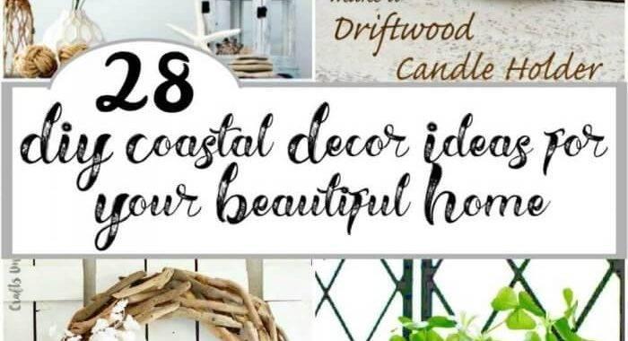 28 DIY Coastal Decor Ideas for Your Beautiful Home, DIY Home Decor Ideas, DIY Crafts, DIY Projects