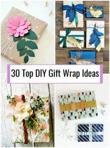 30 Top DIY Gift Wrap Ideas, DIY Gift Wrapping Ideas, DIY Gifts, DIY Crafts, DIY Projects