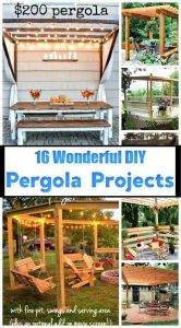DIY Pergola Projects, DIY Pergola Plans, DIY Pergola Ideas, DIY Projects, DIY Ideas, DIY Crafts, DIY Home Decor Ideas, DIY Decorations, DIY Furniture Projects